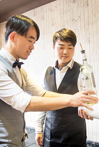 欧米奇调酒师培训讲师-尚宏/King