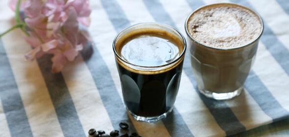 咖啡师培训作品拿铁