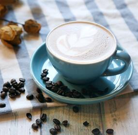 咖啡师培训作品热摩卡